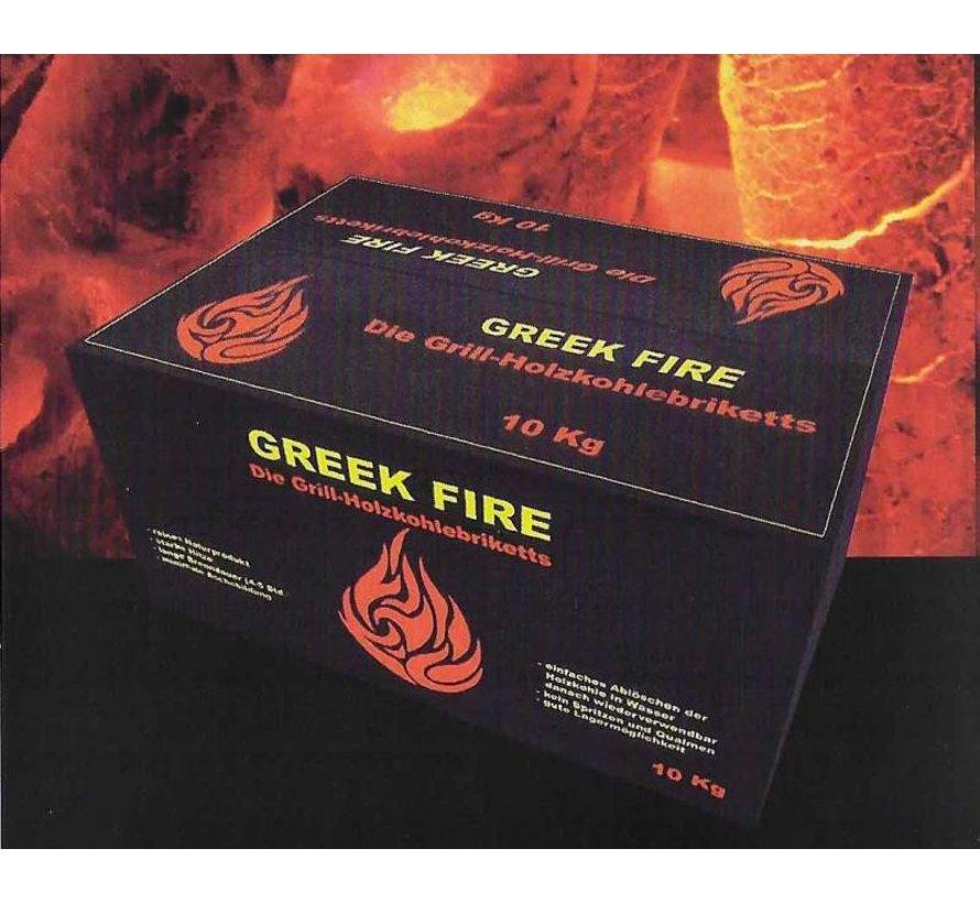 Greek Fire Briketten Tubes 10 kg