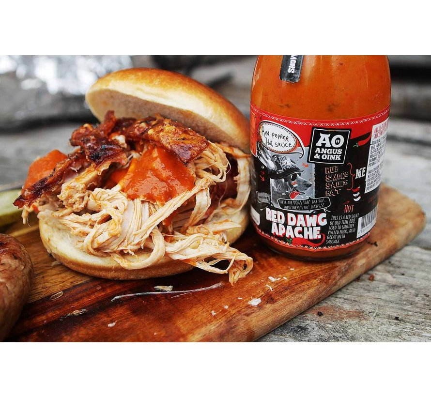 Angus&Oink Red Dawg Apache Pepper Sauce