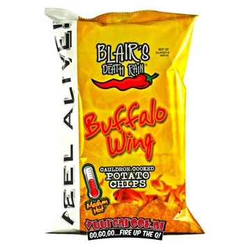 Blairs Death Rain Blairs Death Rain Buffalo Wing Potato Chips 142 gram