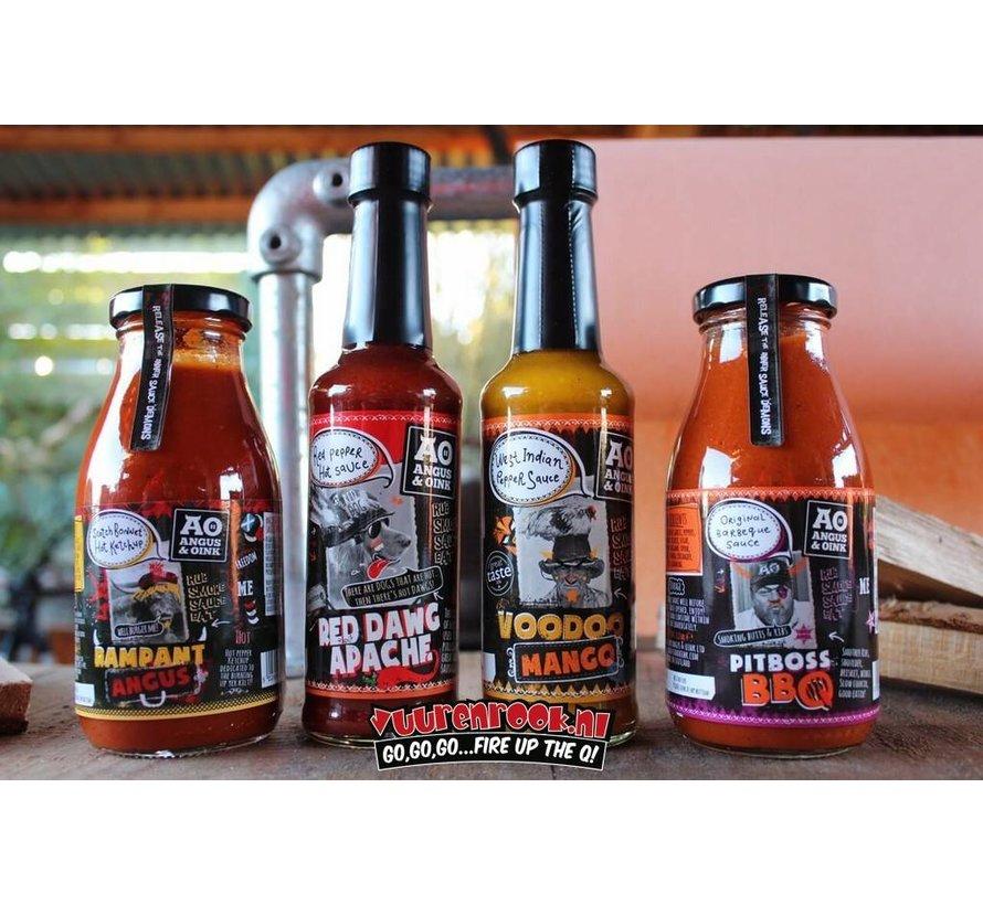 Angus&Oink Voodoo Mango Pepper Sauce