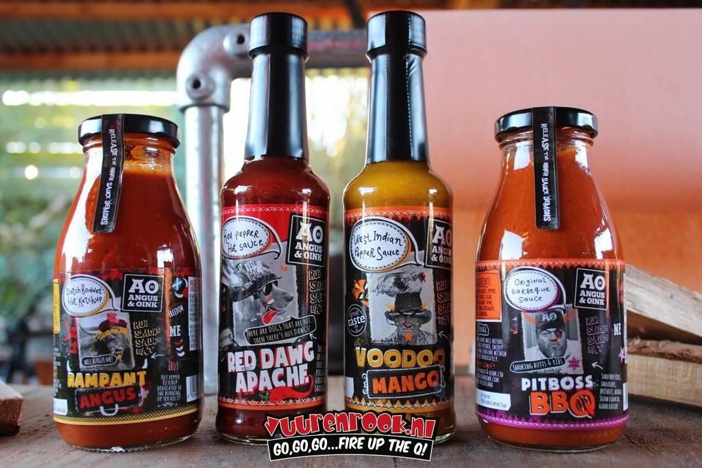 Angus & Oink Angus&Oink Voodoo Mango Pepper Sauce