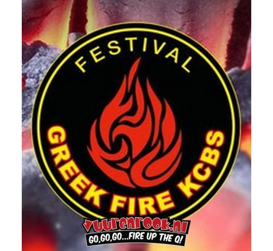Greek Fire Briketts 10 kg (Röhrchen)