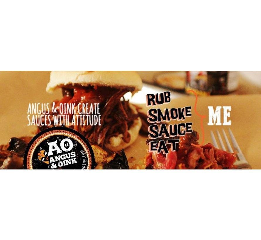 Angus&Oink (Rub Me) Montreal Steak & Burger Seasoning 250 gram