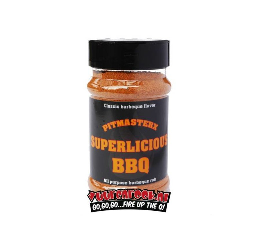Pitmaster X Superlicious Barbecue Rub 175 gram