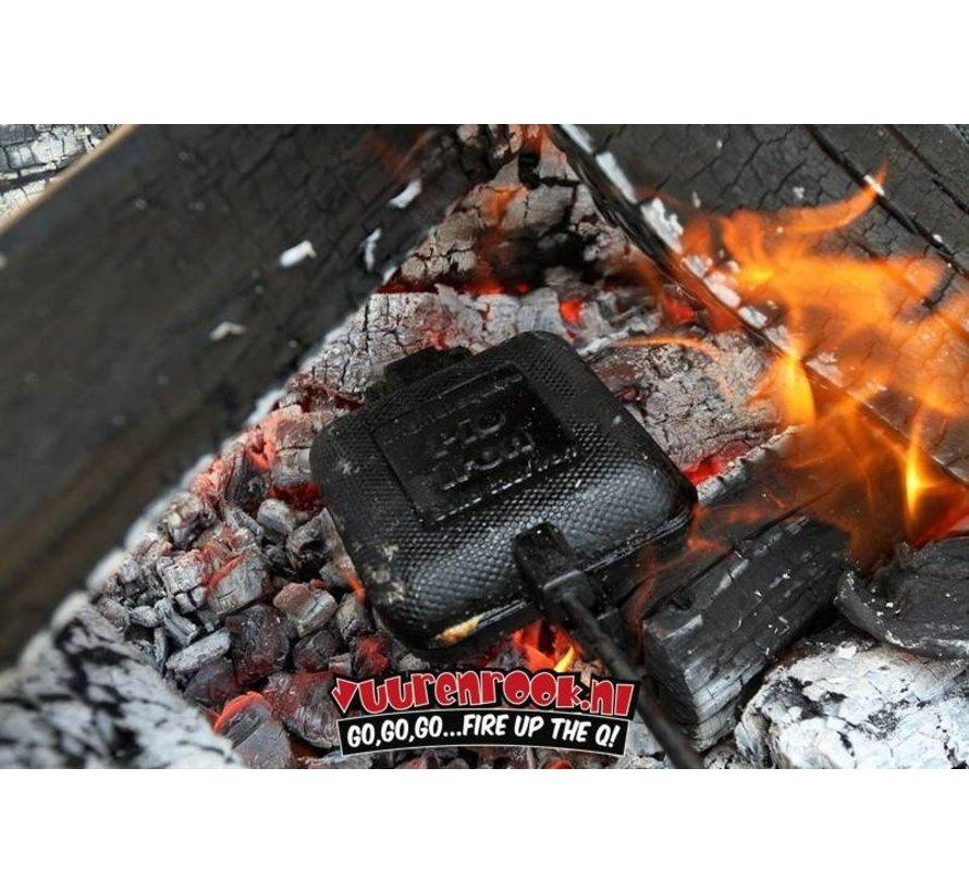 Rome Pie Iron Super Combo Square Jaffle Iron + Iron Round Jaffle Iron (1105 + 1205) + Pie Iron Recipe Book