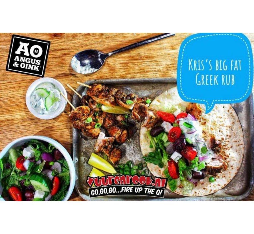 Angus&Oink (Rub Me) Big Phat Greek Seasoning