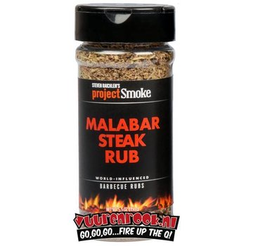 ProjectSmoke Project Smoke Malabar Steak Rub 5.9oz