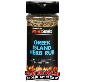 ProjectSmoke Project Smoke Greek Island Herb Rub 2.75oz