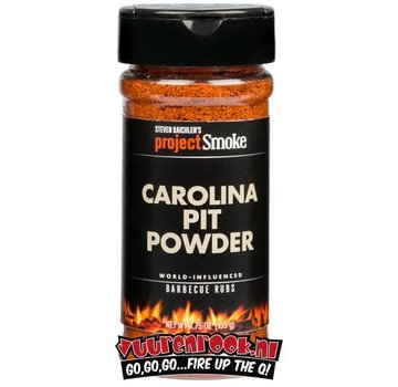 ProjectSmoke Project Smoke Carolina Pit Powder 4.75oz