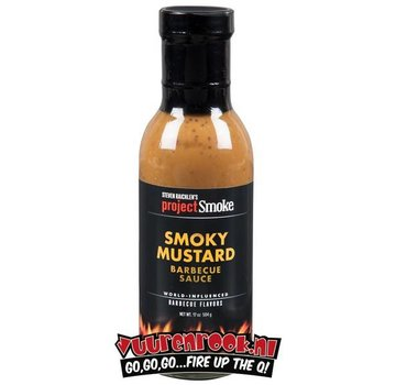 ProjectSmoke Project Smoke Smoky Mustard Sauce 17oz