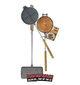 Rome's Industries Rome's Pie Iron Super Combo Waffle Iron + Double Pie Iron (1028+1605)