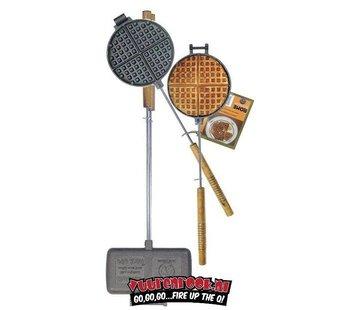 Rome's Industries Rome Pie Iron Super Combo Waffle Iron + Double Pie Iron (1028+1605)