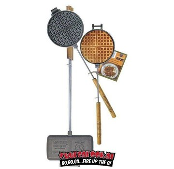 Rome's Industries Rome Pie Iron Super Combo Waffle Iron + Double Pie Iron (1028+1605)