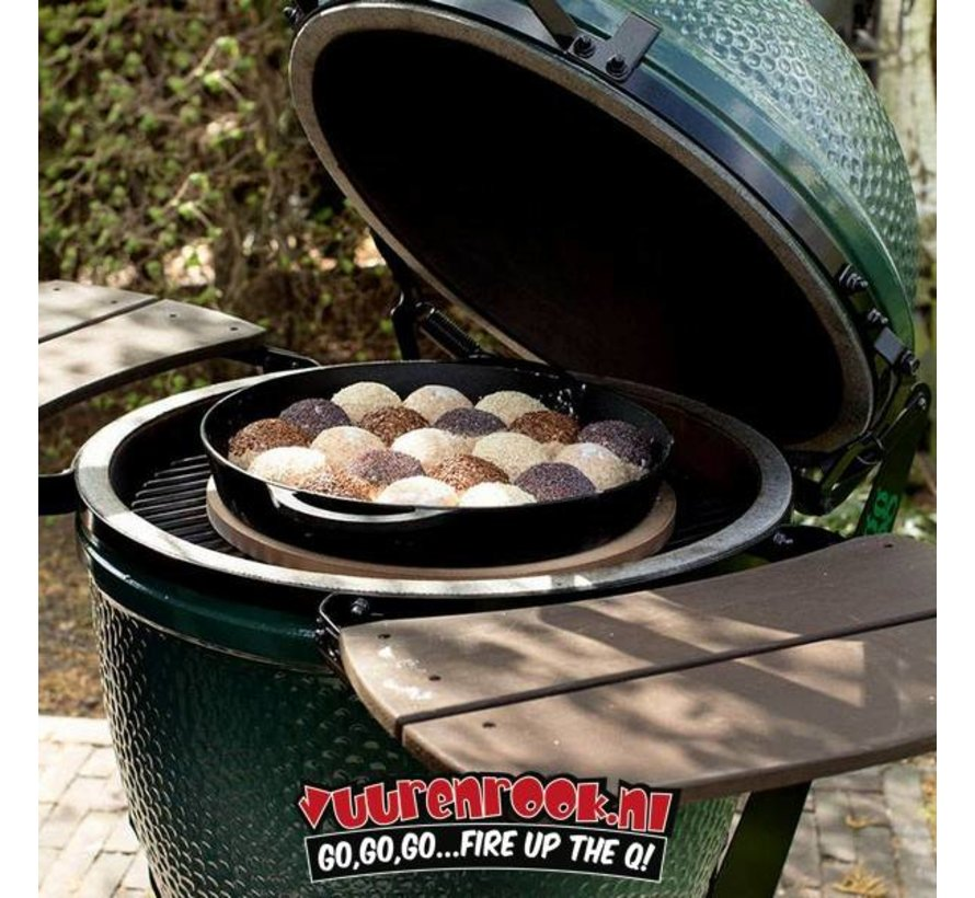 Big Green Egg Small + Nest + Cover