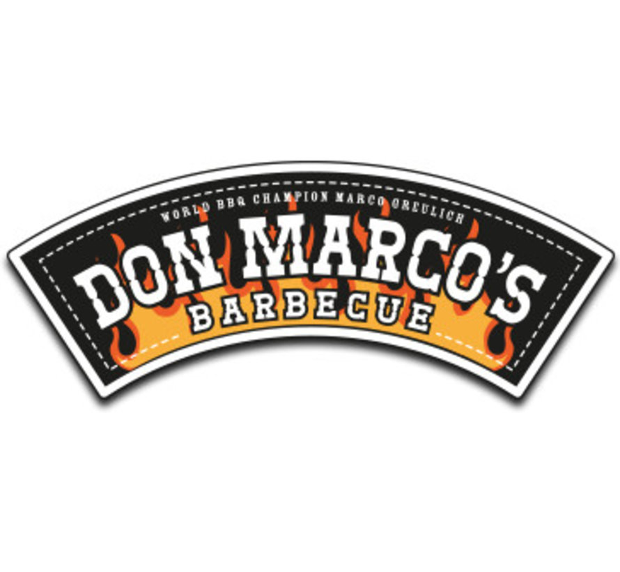 Don Marcos BBQ Mafia Coffee Rub 220 grams