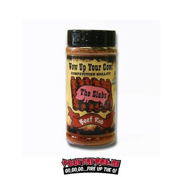 Slabs Slabs Wow Up Your Cow BBQ Rub 11.7oz