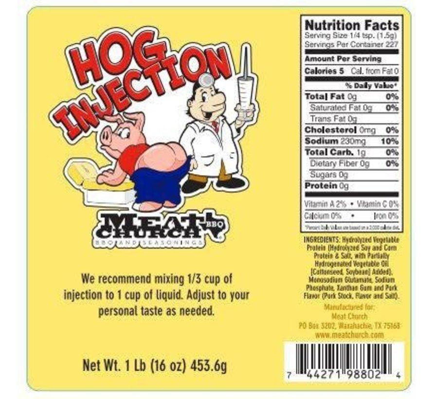 Meat Church Hog Pork Injection 16oz