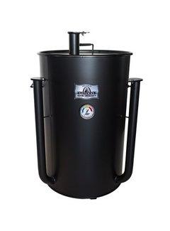 Gateway Blues Hog Edition Gateway Drum Smoker - 55 Gallon Flat Black No Plate