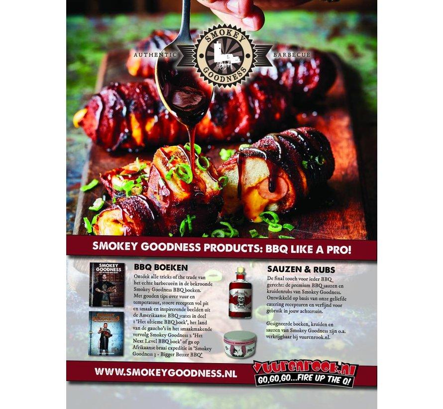 Smokey Goodness Beefalicious BBQ kruidenrub 200 gram