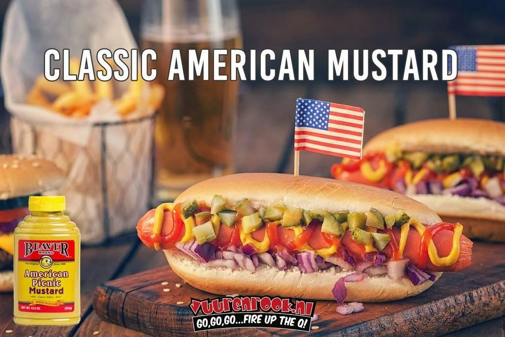 Beaver Brand American Picnic Mustard