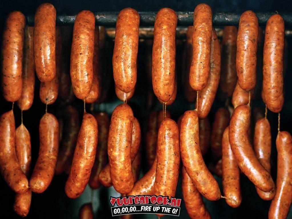 Chorizo BBQ Worstjes 10x 80 gram