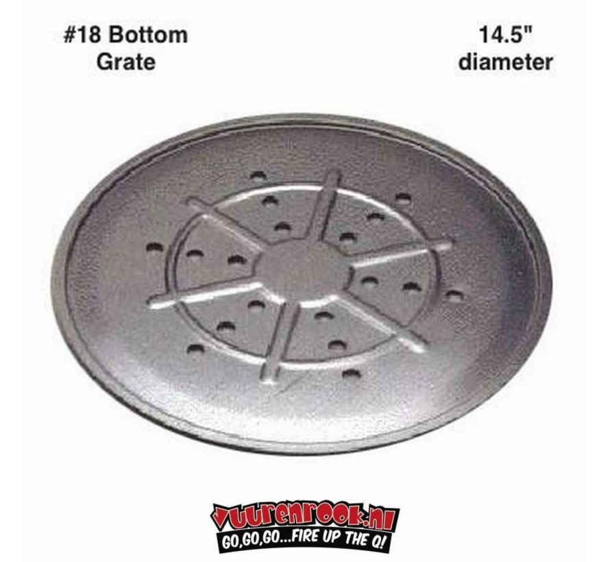 Old Smokey Charcoal Grill Botton Grate