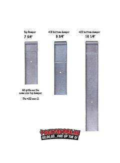 Old Smokey Old Smokey Charcoal Grill Dampers