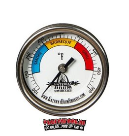 Gateway Drum Smoker Custom Dial Thermometer