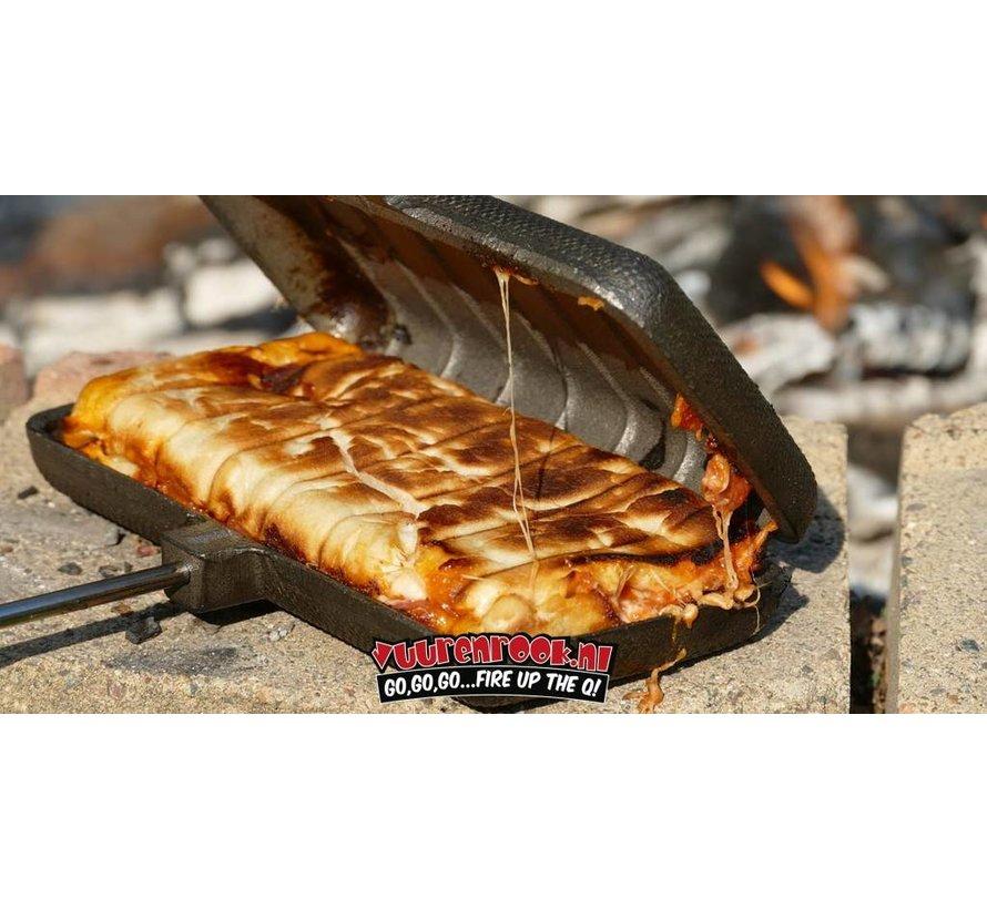 Rome Pie Iron Panini Sandwich Iron