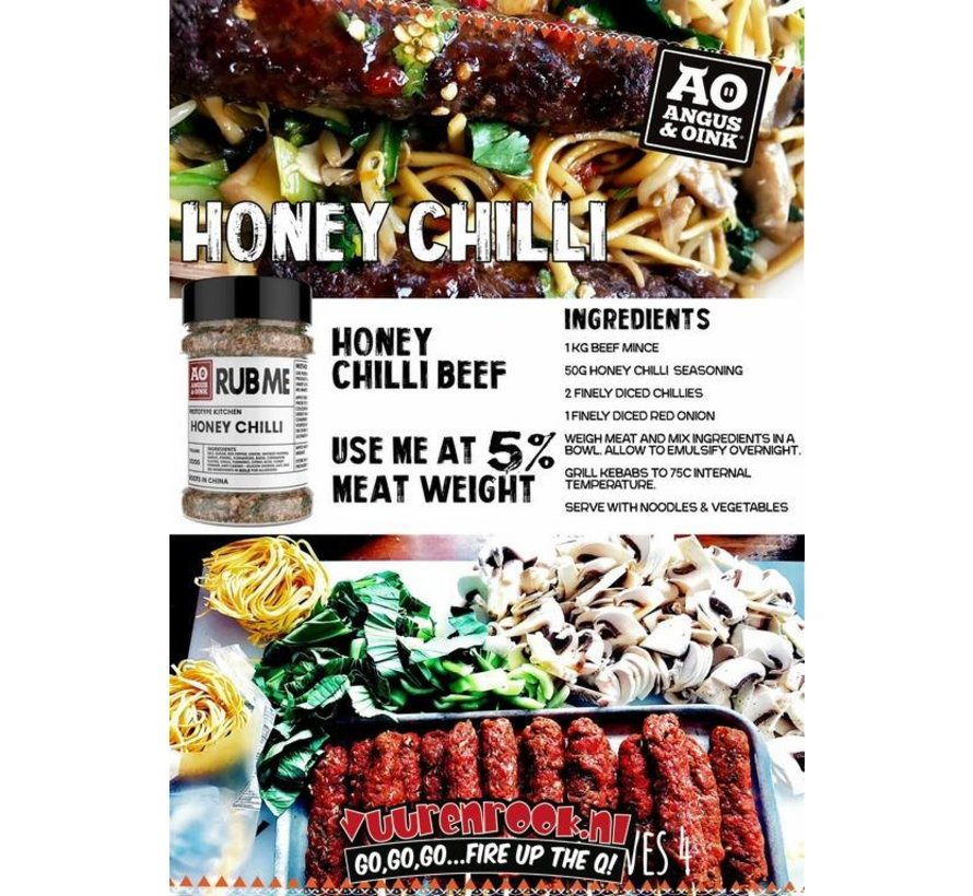 Angus&Oink (Rub Me) Honey Chili Seasoning