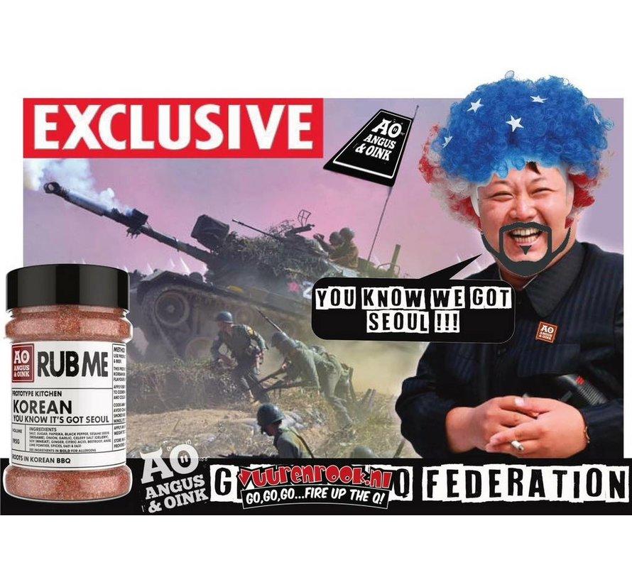 Angus&Oink (Rub Me) Korean Rub 195 gram