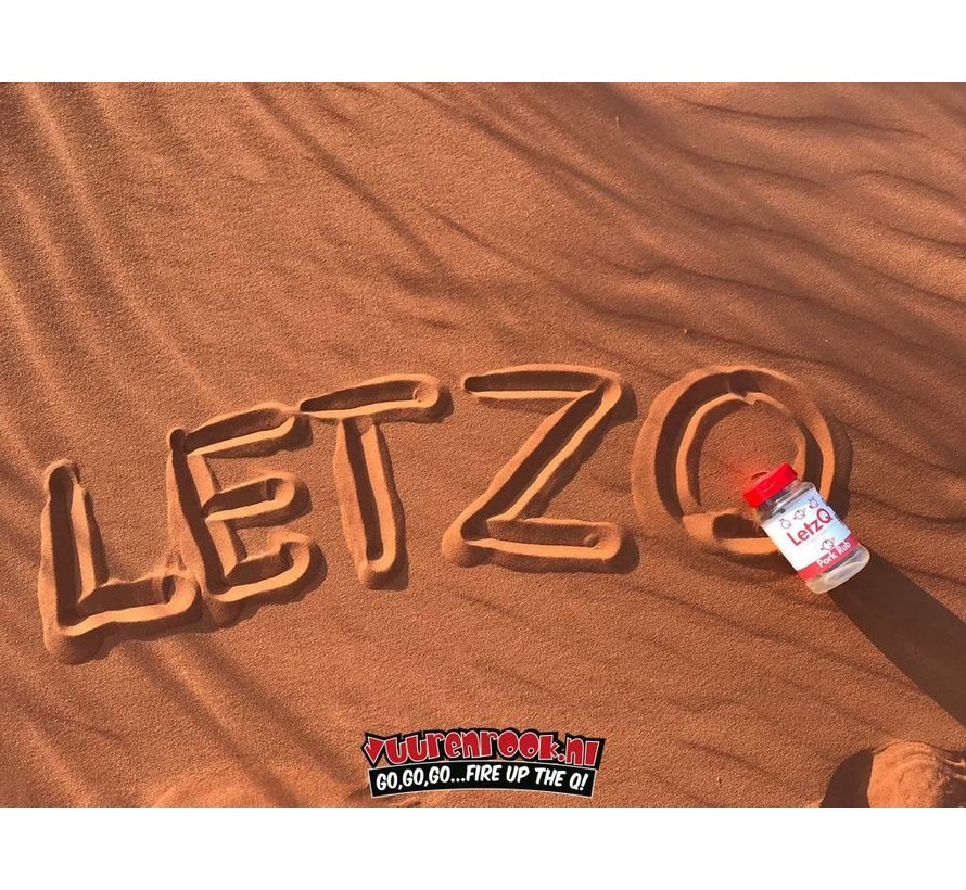 LetzQ Award Winning Pork Rub 300 gram