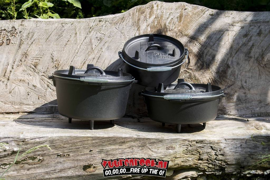 The Windmill Cast Iron The Windmill Tri-Pot Dutch Oven Deal