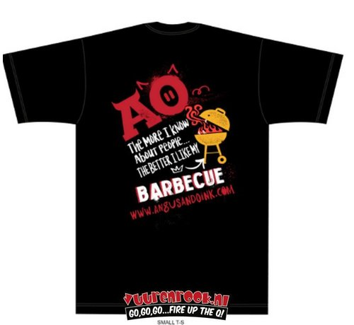 Angus & Oink Angus&Oink The More I Love My BBQ Longsleeve