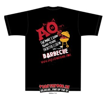 Angus & Oink Angus&Oink The More I Love My BBQ T-Shirt