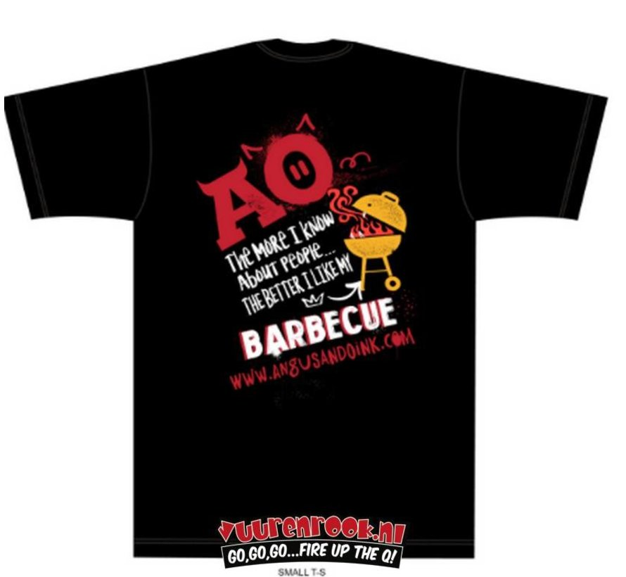 Angus&Oink The More I Love My BBQ T-Shirt