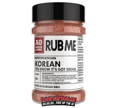 Angus & Oink Angus&Oink (Rub Me) Korean Rub