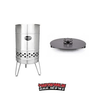 Feuerhand Feuerhand Stove + Plate (Grillplaat) by Petromax