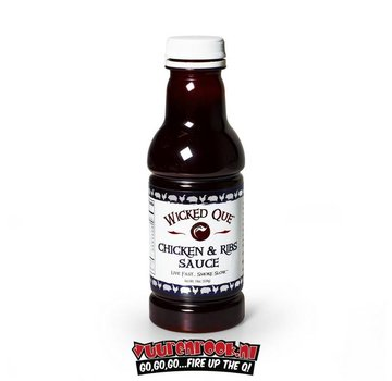 Wicked Que Wicked Que Chicken & Ribs Sauce 19oz