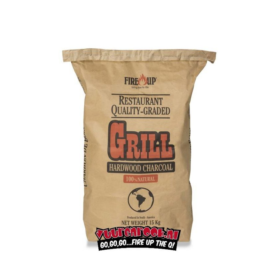 Fireup South African Lump Charcoal 15 kg