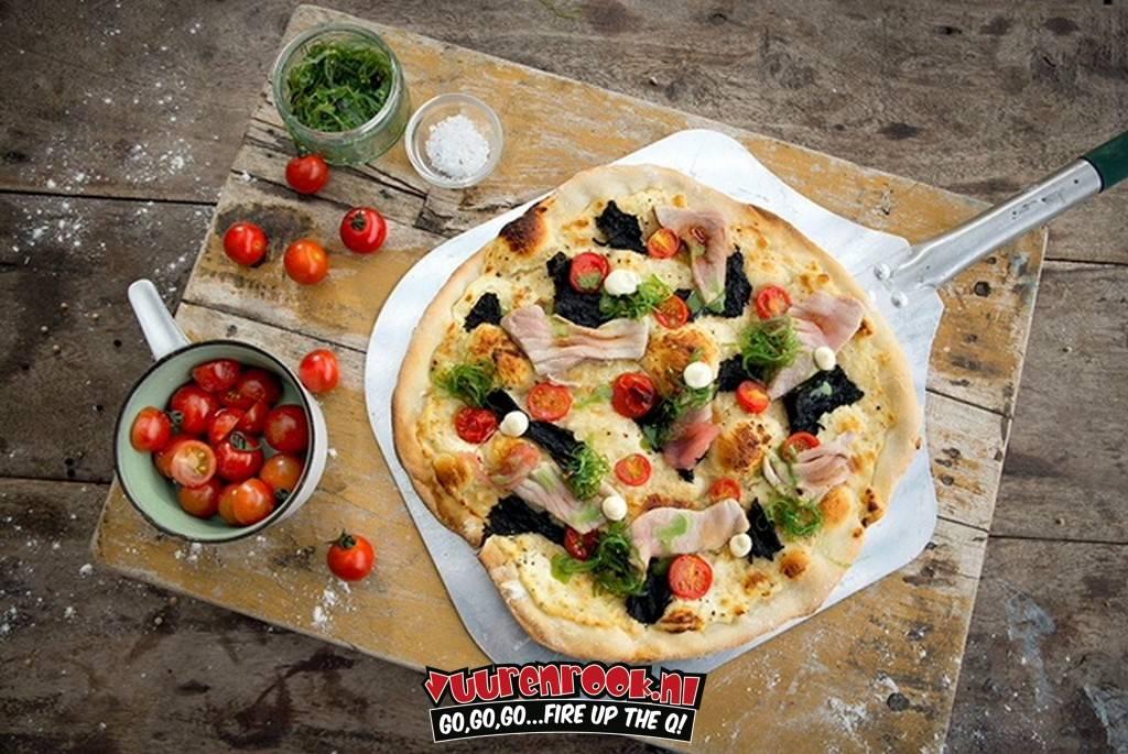 Big Green Egg Pizza Schep Aluminium