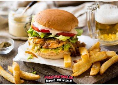 Smokey Chicken Burger