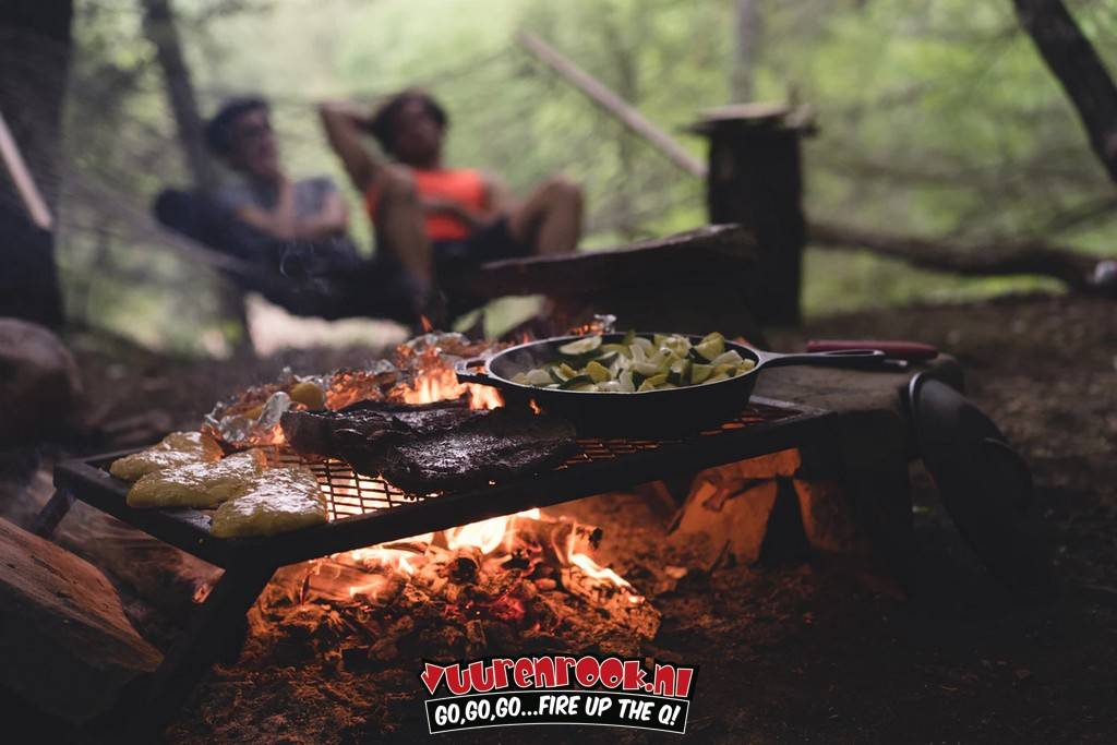 "CampChef Lumberjack Over Fire Grill 18""x36"""