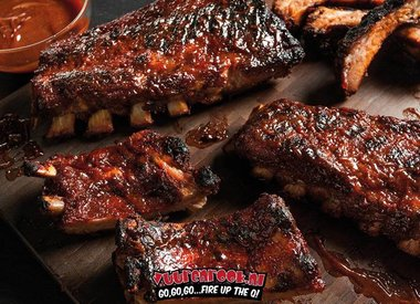 Award Winning Competition Ribs by Melanie