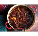 Stew with smoked oxtail & beer