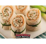 Crazy Orange Salmon Wrap