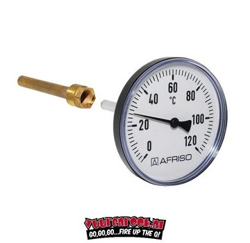 Afriso Afriso Thermometer Edelstahl 62mm