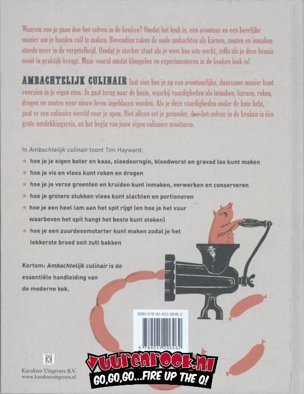 Karakter Uitgevers BV Ambachtelijk Culinair