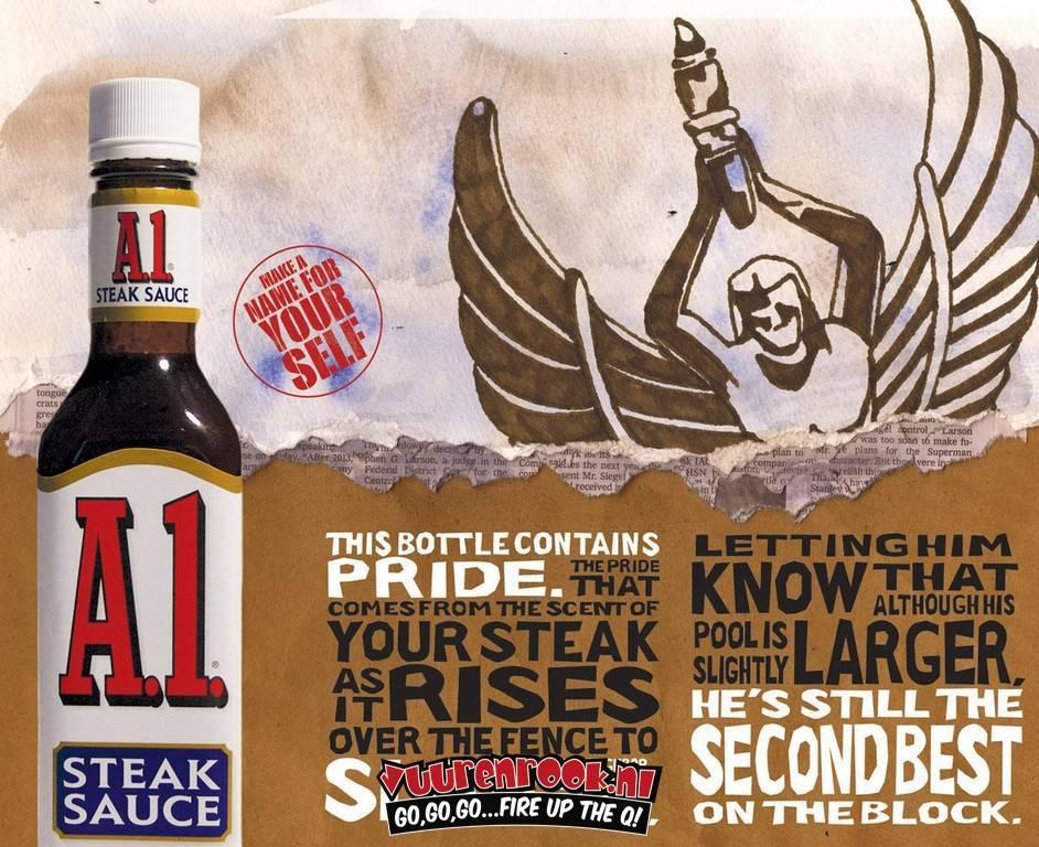 A1 A1 Steak Sauce XXL