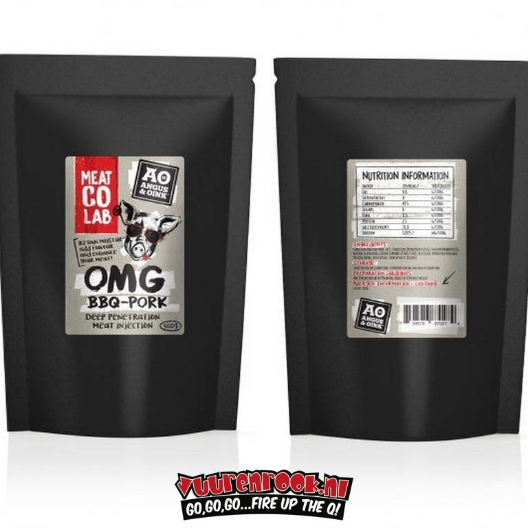 Angus & Oink Angus&Oink (Meat Co Lab) OMG Beef - Deep Penetration Meat Injection